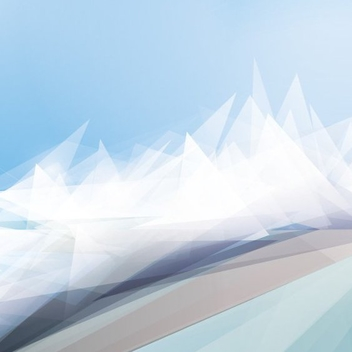 White Winter Landscape - Free vector #205941