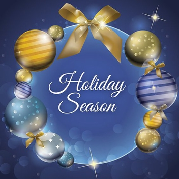 Holiday Season - Free vector #206021