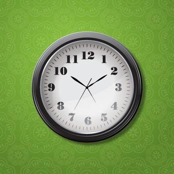 Clock - vector #206321 gratis