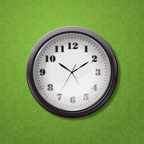 horloge - vector gratuit #206321