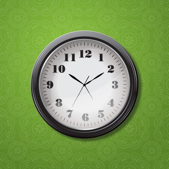 Clock - Free vector #206321