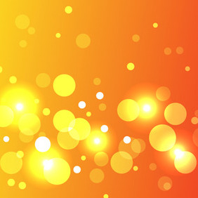 Great Vector Bokeh Effect - vector gratuit #206451