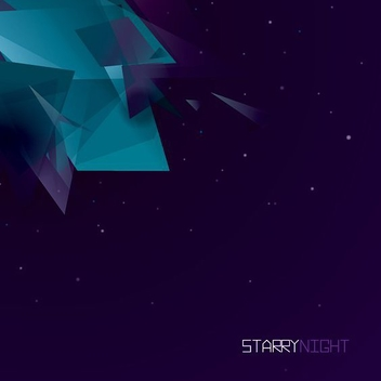Starry Night - vector gratuit #206571