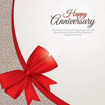 Happy Anniversary - vector gratuit #206661
