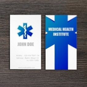 Healthcare Business Card - Free vector #206811