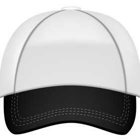 Baseball Cap Vector - Free vector #207511