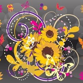 Spring Footage - vector gratuit #207591