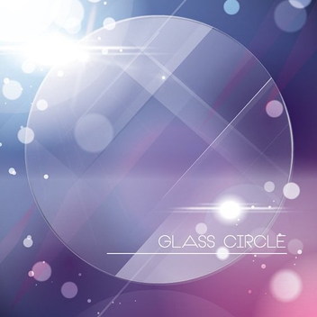 Glass Circle - Kostenloses vector #207621