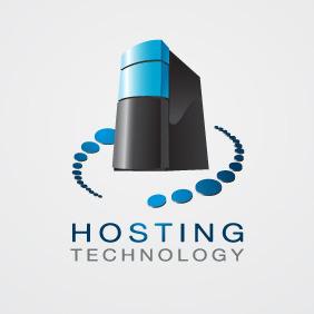 Hosting Logo 02 - Free vector #207661