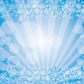 Blue Ornament Vector Graphique - Free vector #207901