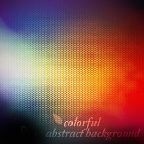 Colorful Abstract Background - Kostenloses vector #208071