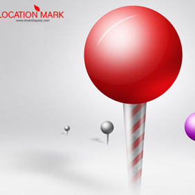 Location Mark - vector gratuit #208291