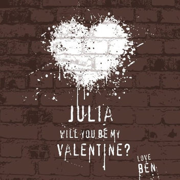 Will You Be My Valentine - vector #208321 gratis