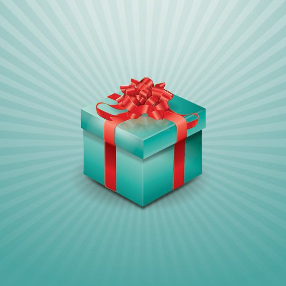 Gift Box - Free vector #208331