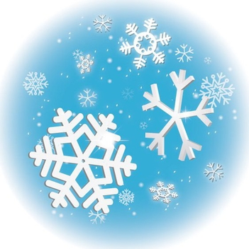 Winter Sky - vector #208821 gratis