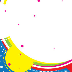 Colorful Banner With Circles - Free vector #209021