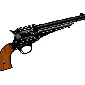 Pistol Vector Image - Free vector #209031