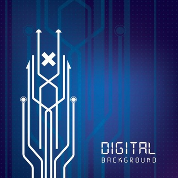 Digital Background - vector #209121 gratis