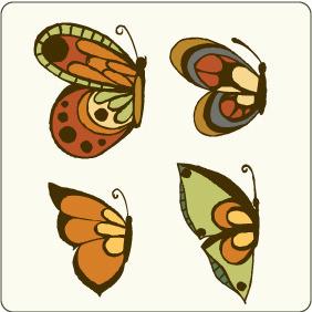 Vector Butterflies 2 - Kostenloses vector #209331
