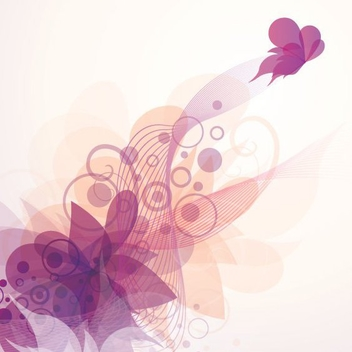 Butterfly Fly Away - Free vector #209481