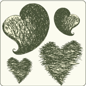 Hearts Set 1 - Free vector #209491