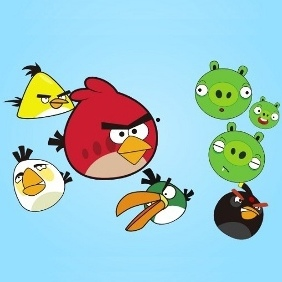 Angry Birds Vector - Free vector #209601