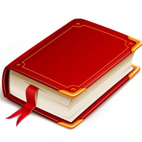 Red Vector Book - Free vector #210141
