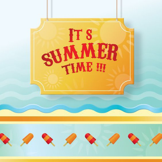 Summertime - Free vector #210301