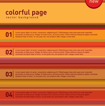 Colorful Page - vector gratuit #210411