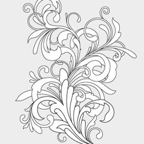 Free Flourish In Vector Format - Free vector #210541