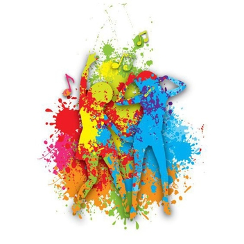 Colorful Dance - Free vector #210591