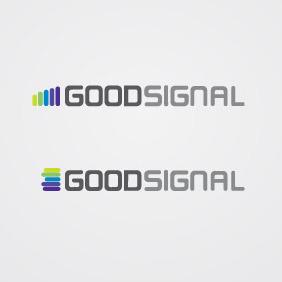 Good Signal Logo Vector - Free vector #210641