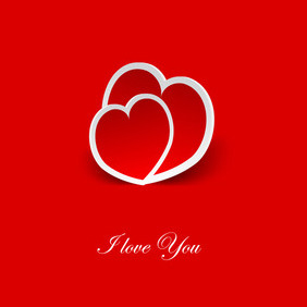 Valentines Day Hearts - Free vector #210651