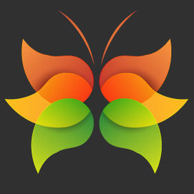 Free Vector Abstract Butterfly - vector gratuit #210741