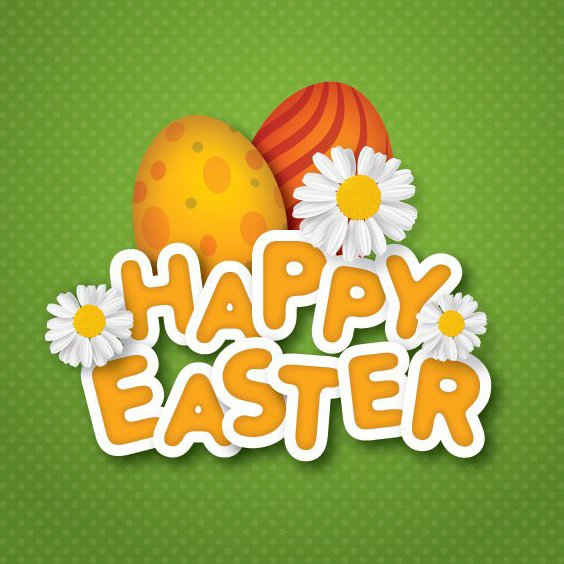 Happy Easter Background - Free vector #210751