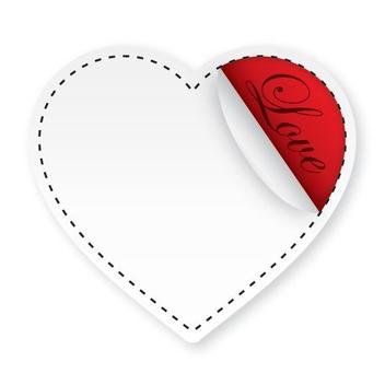 Love Sticker - Kostenloses vector #210811