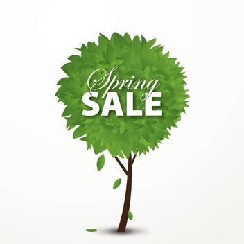 Spring Sale - vector gratuit #210821