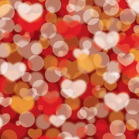 Valentines Defocus Background - Free vector #210841