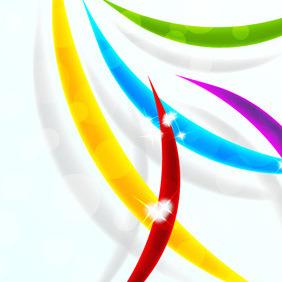 Colourful Stripe Background - Kostenloses vector #210951