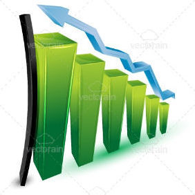 Growing Business Graph, Success - Free vector #211281