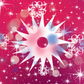 Big Pointed Stars Free Vector Design - Free vector #211331