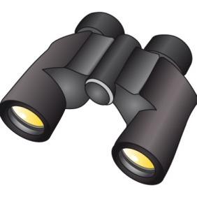 Binoculars - Free vector #211351