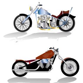 Free Harley Davidson Bikes Vector Format - Free vector #211371