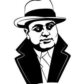 Al Capone Vector Image - Free vector #211491