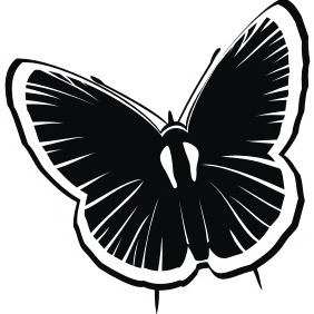 Butterfly - Free vector #211541