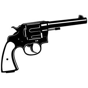 Revolver Vector Image - Kostenloses vector #211591