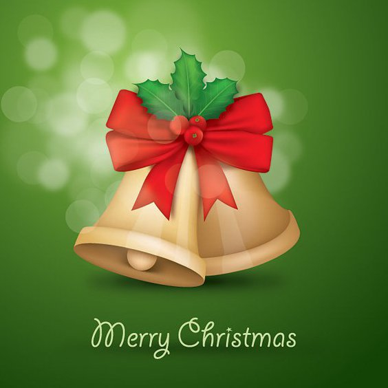Christmas Bells - Free vector #211781