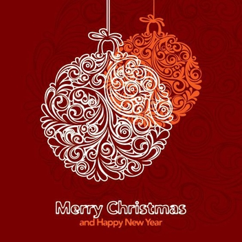 Holiday Ornaments - vector gratuit #211841
