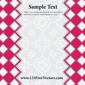 Greeting Card Template Vector - vector gratuit #211861