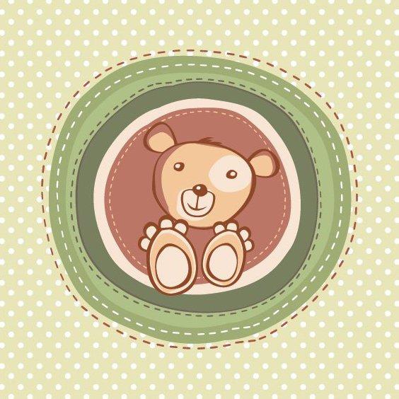 Childish Card - Free vector #212451